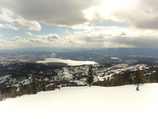 Whitefish Mountain Resort: great views
