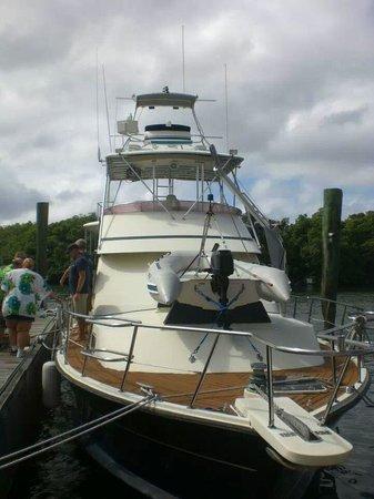 Aqua Marine Dive Center: the yacht