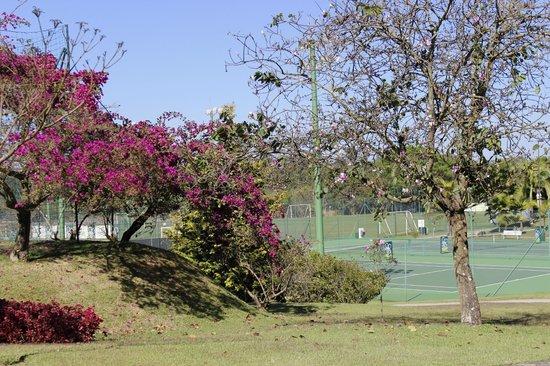 Bourbon Atibaia Convention & Spa Resort: área verde