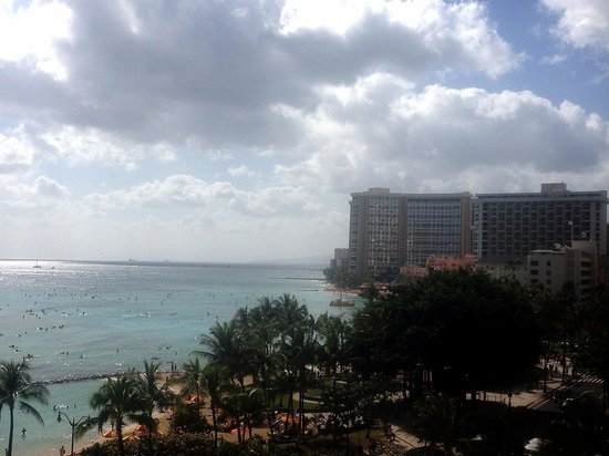 Pacific Beach Hotel: ラナイからの眺め