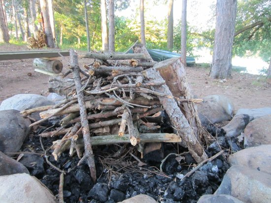 Mallards Landing: Wonderful firepit