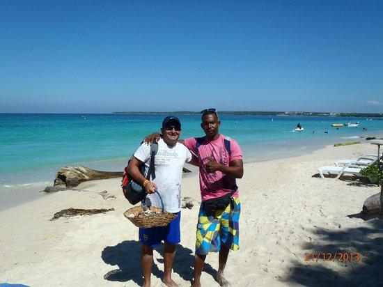 Decameron Barú: Con Nelson en Playa Blanca