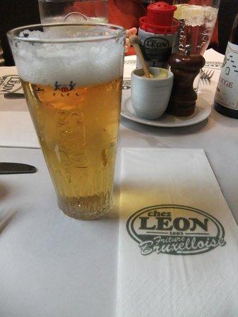 Chez Leon: マエスビール