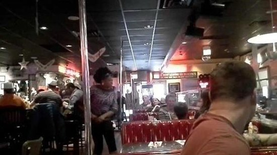 Ed Debevic's : Birthday song!