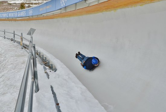 Utah Olympic Park: Strangely exilarating