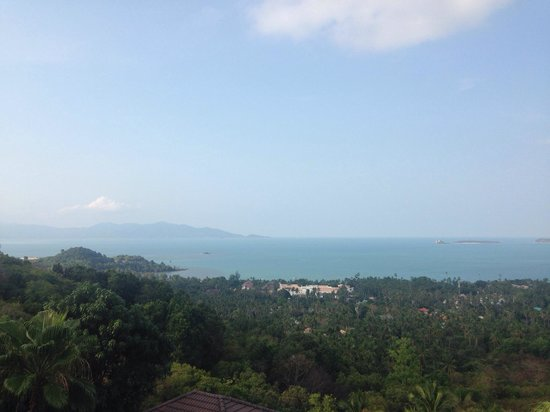 Mantra Samui Resort : View from the balcony.