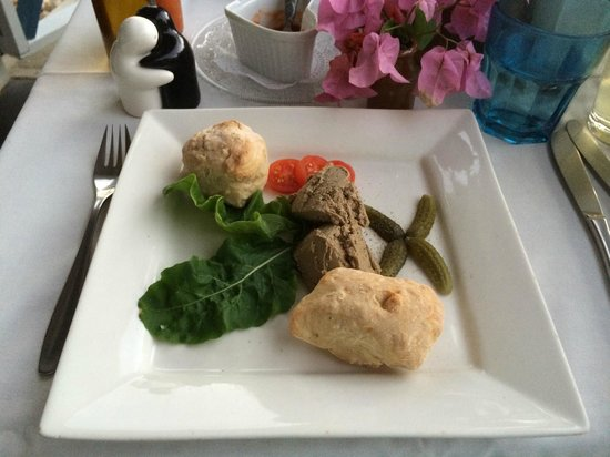 Cecilia's High Point Cafe : Appetizer : Chicken Pate