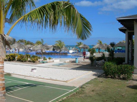 Hotel Cayo Santa Maria : Vue piscine/mer