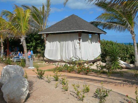 Hotel Cayo Santa Maria : Pour un petit massage!