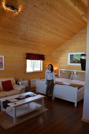 Northern Lights Resort & Spa : East chalet we stayed