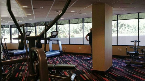 Hyatt Palm Springs: Gym