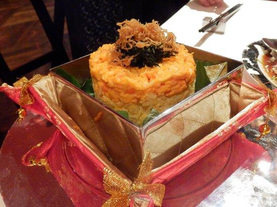 The China House at Mandarin Oriental, Bangkok: Emperors rice
