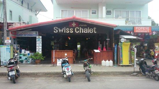 Swiss Chalet: Вид с улицы