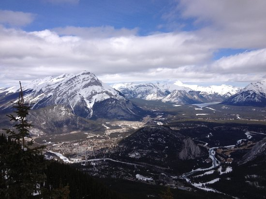 Banff Gondola: The improved view