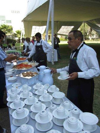 Radisson Poliforum Plaza Hotel Leon: Coffee break