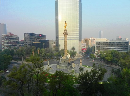 City Express Plus Reforma El Angel: Vista desde la habitación.