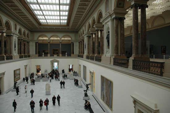 Royal Museums of Fine Arts of Belgium: 美術館内部
