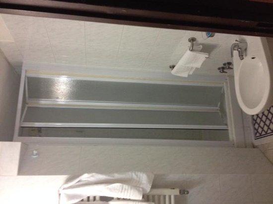 Hotel Veronese: shower