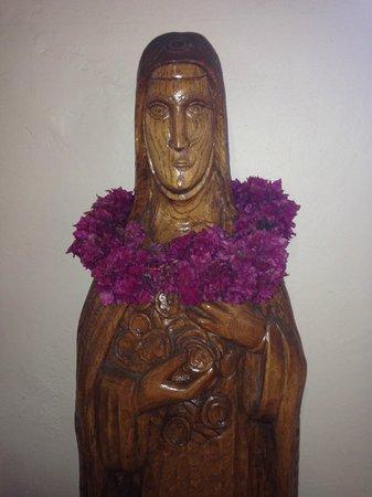 Iglesia de Rapa Nui: Imágenes religiosas