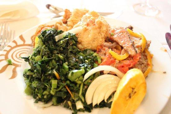 Grand Bahia Principe Jamaica : Food from Buffet