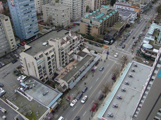 Blue Horizon Hotel: View from balcony