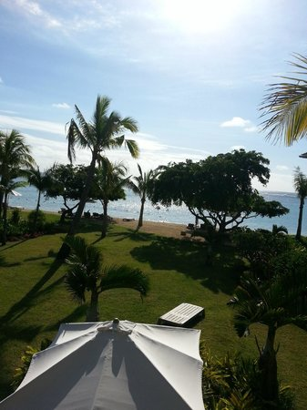 The St. Regis Mauritius Resort: View from the room