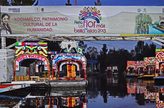 El 11 de diciembre de 1987, Xochimilco inscrito Patrimonio Cultural de la Humanidad, por la UNES