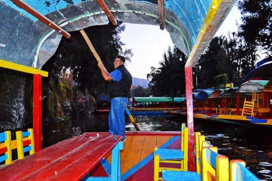 Xochimilco : Trajinero
