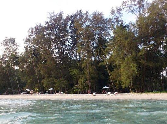 Neverland Beach Resort : Clean beach and clear water