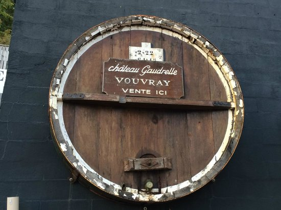 Auberge du Bon Laboureur : Chateau Gaudrelle Winery in Vouvray