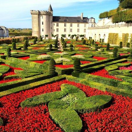 Auberge du Bon Laboureur : Chateau & Jardins Villandry