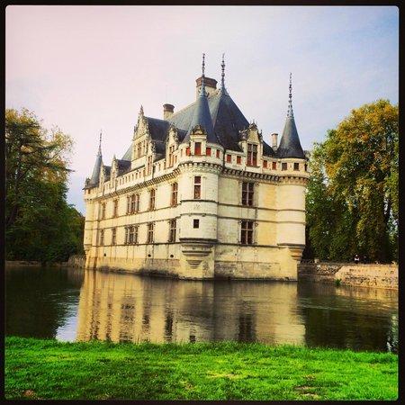 Auberge du Bon Laboureur : Chateau d'Azay let Rideau