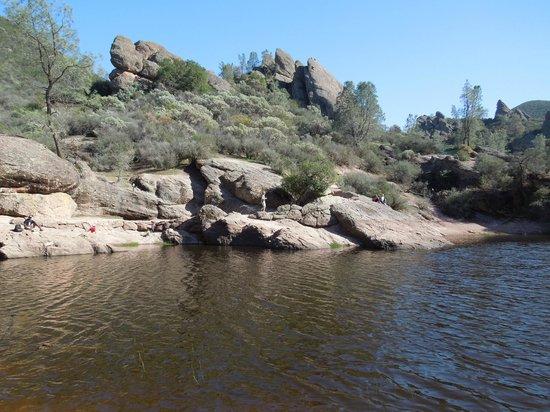 Pinnacles National Park: the reservoir