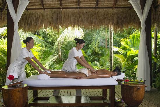 MAIA Luxury Resort & Spa : Spa treatment