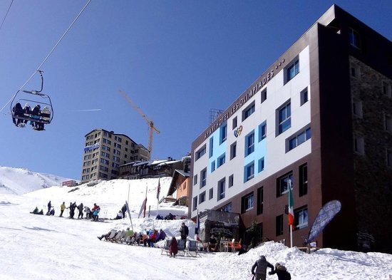 Aparthotel Les Olimpiades: Вход