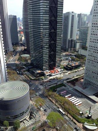 Вид с окна Hilton Tokyo