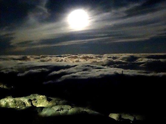 Refugio de Altavista: Космос над облаками