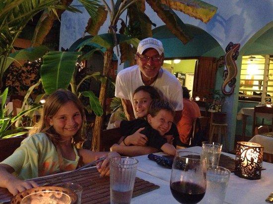 The Secret Garden Restaurant: Hartup Family