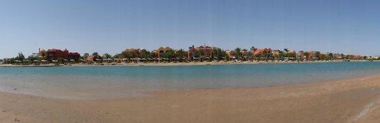 Sheraton Miramar Resort El Gouna: vue depuis la plage