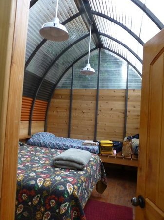 Big Sur Campground & Cabins: camping cabins $183 with tax per night!