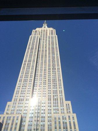 nyma, the New York Manhattan Hotel : Utsikt fra rommet