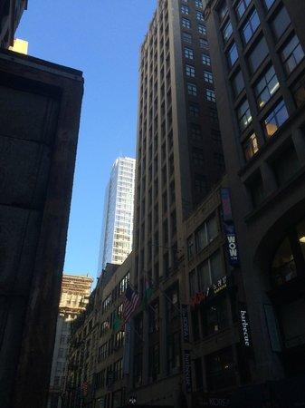 nyma, the New York Manhattan Hotel: Hotell nyma i midten