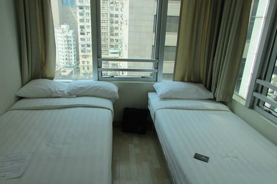 Small hotel room picture of hongkong mk hotel hong kong for Small lounge suites small rooms