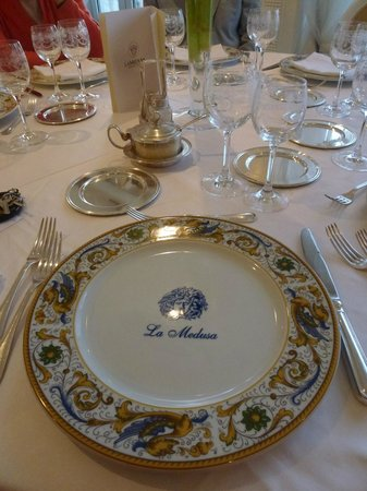 La Medusa Hotel & BoutiqueSpa : Before dinner...