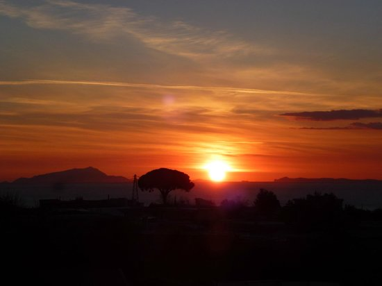 La Medusa Hotel & BoutiqueSpa : Sunset from my room