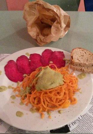Ete Bistro : spaghetti di carote