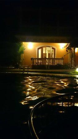 Joie de Vivre Goa: Pool by the night