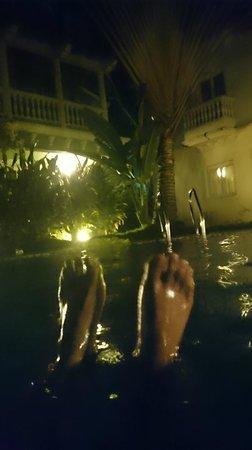 Joie de Vivre Goa: Pool excellent for non-swimmers