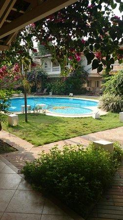 Joie de Vivre Goa : Pool view from villa