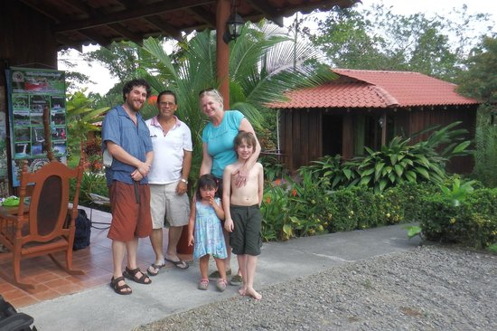 Hotel Rancho Cerro Azul : With our host